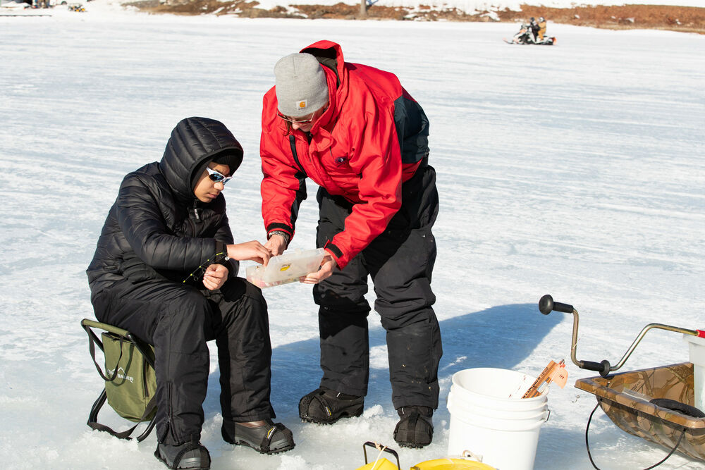 New to ice fishing? No problem! Learn from a pro.