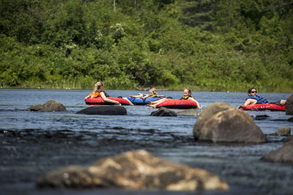 Newcomb's lakes and the Boreas River are perfect for a sunny float.