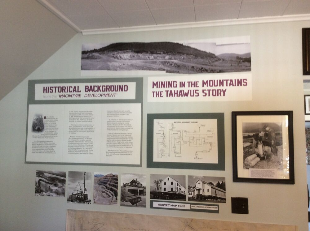The Newcomb Historical Museum now holds the history of Tahawus.