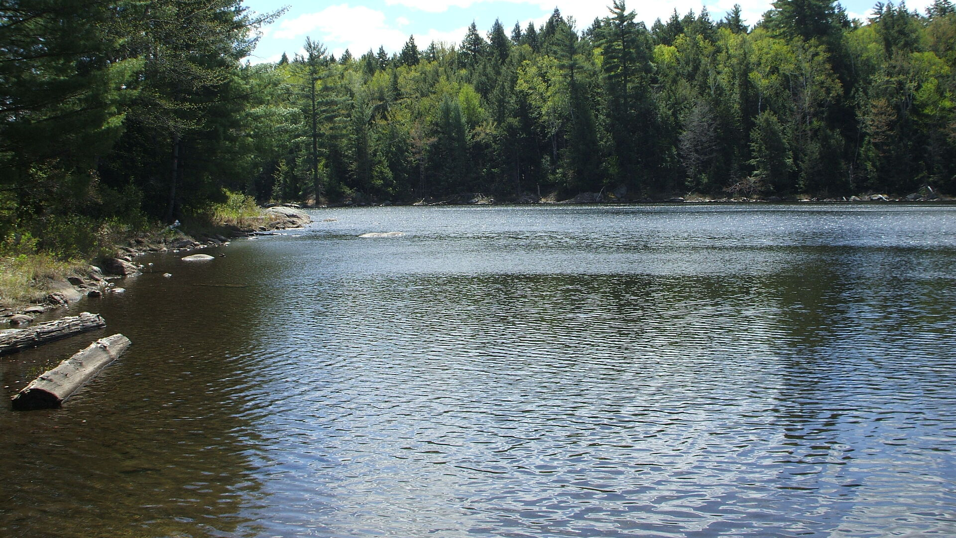 This is a great destination for hiking, paddling, fishing, and its also a winter trail.
