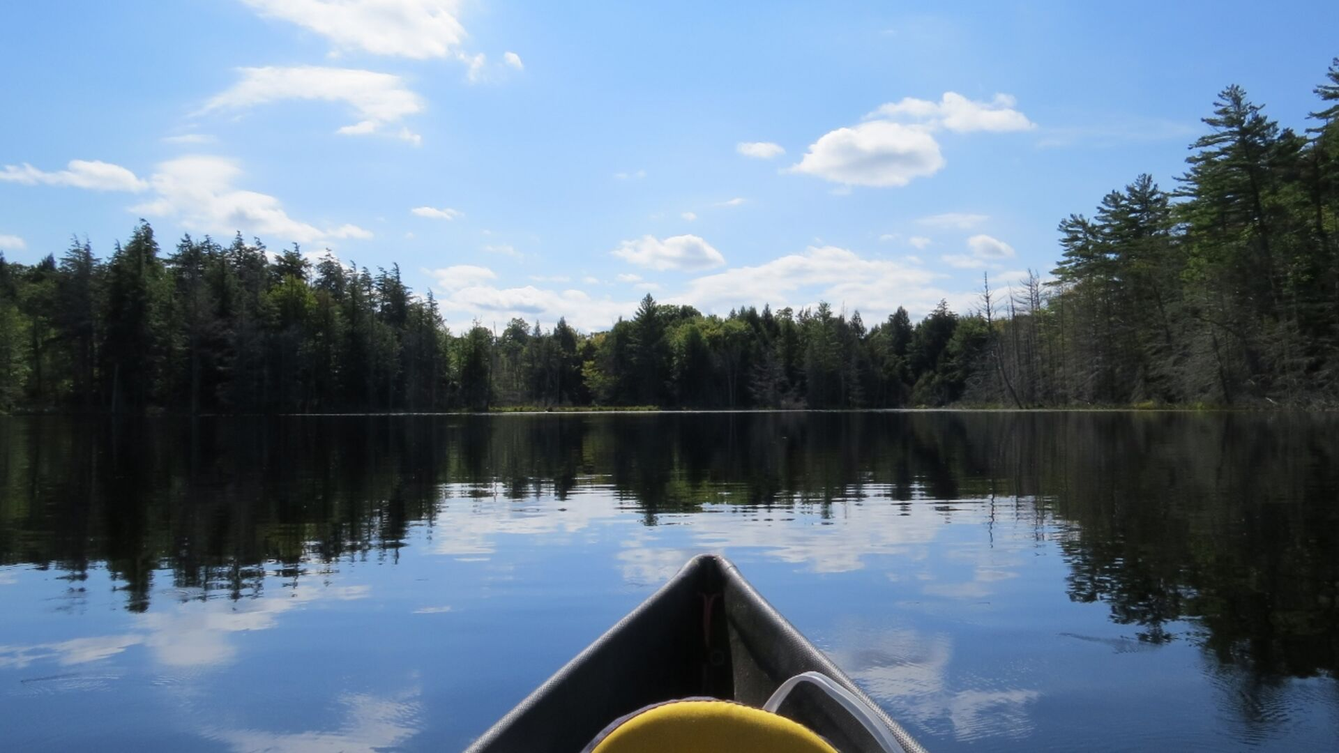 The lakes are made for paddling.